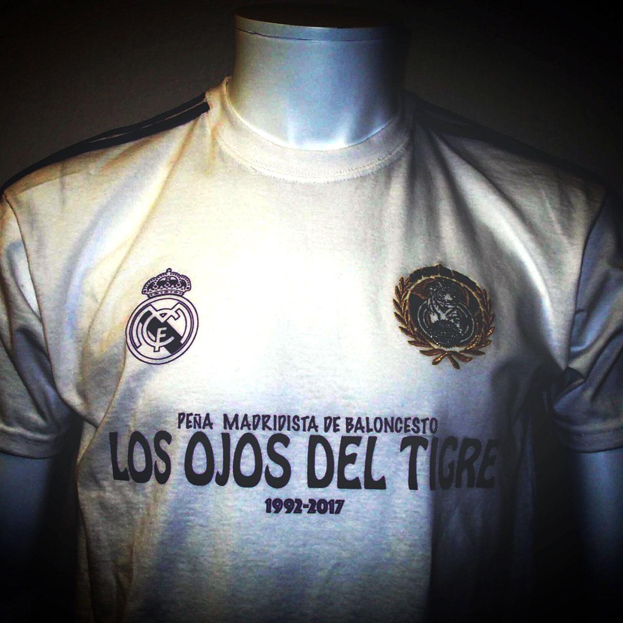 Frontal de la camiseta