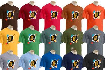 Camisetas diferentes colores
